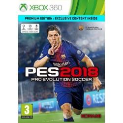 PES 2018. Pro Evolution Soccer (Xbox 360)
