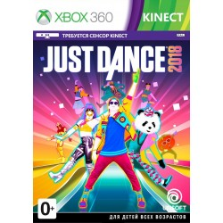 Just Dance 2018 (Xbox 360, Kinect)