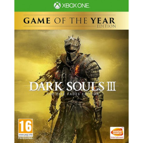 Dark Souls 3. The Fire Fades Edition (Xbox One)