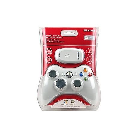 Microsoft Xbox 360 White. Wireless Controller for Windows