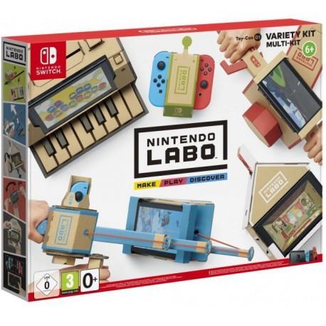 Nintendo Labo: комплект «Дизайн» ( Labo Customization Kit )