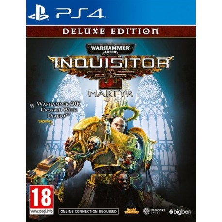 Warhammer 40,000 Inquisitor - Martyr. Deluxe Edition (PS4)