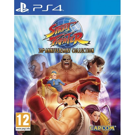 Street Fighter 30th Anniversary Collection (PS4)