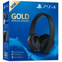 New Gold Wireless Stereo Headset (PS4)