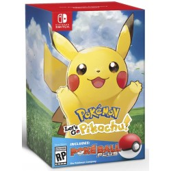 Pokemon. Let's Go, Pikachu! + Poke Ball Plus (Switch)