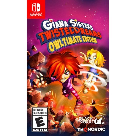 Giana Sisters: Twisted Dream - Owltimate Edition (Switch)