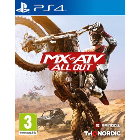 MX vs ATV All Out [PS4)