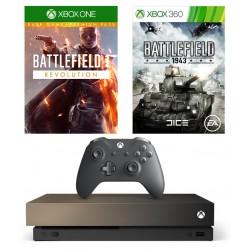 Xbox One X 1TB + Две игры