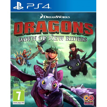 Dragons. Dawn of New Riders (PS4)