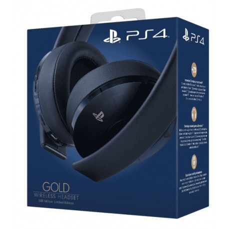 Беспроводная гарнитура Gold Wireless Headset 500 Million Limited Edition Sony