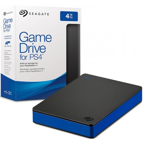 Жесткий диск Seagate Game Drive 4TB (PS4)