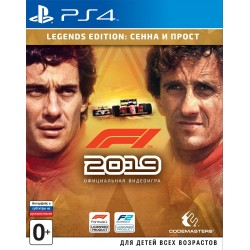 F1 2019. Legend Edition (PS4)