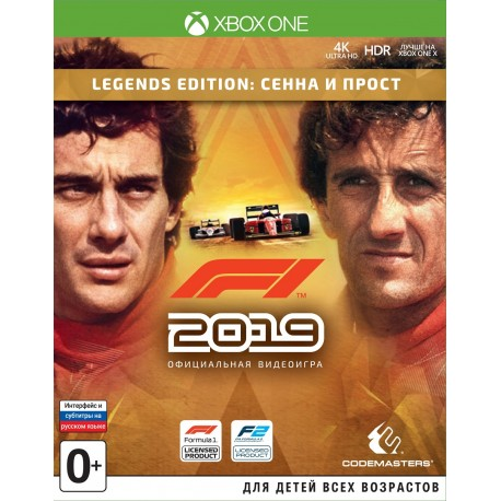 F1 2019. Legend Edition (Xbox One)