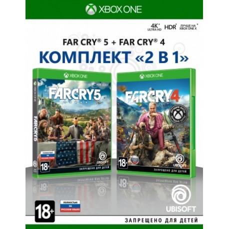 Комплект Far Cry 4 + Far Cry 5 (Xbox One)