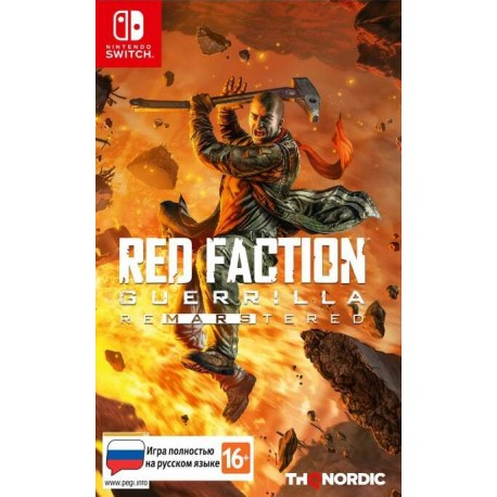 Red Faction Guerrilla Re-Mars-tered (Switch)
