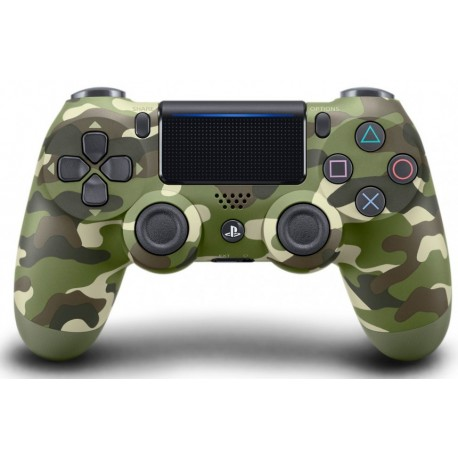 Геймпад DualShock 4 Green Cammo