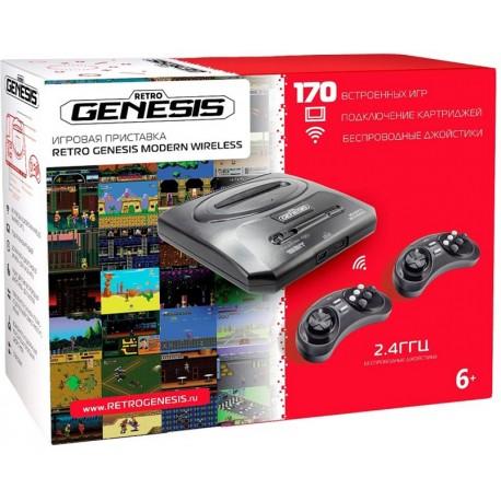 SEGA Retro Genesis Modern Wireless (170 встроенных игр)