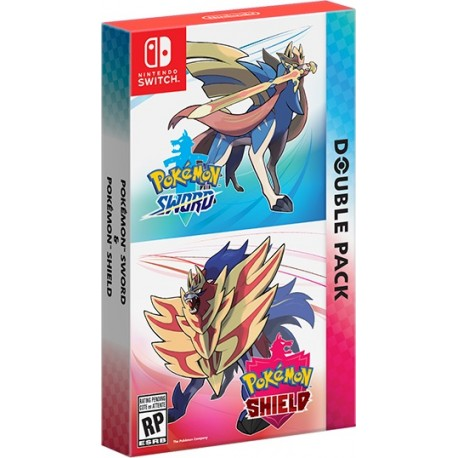Pokemon Sword and Pokemon Shield Dual Pack (Switch)