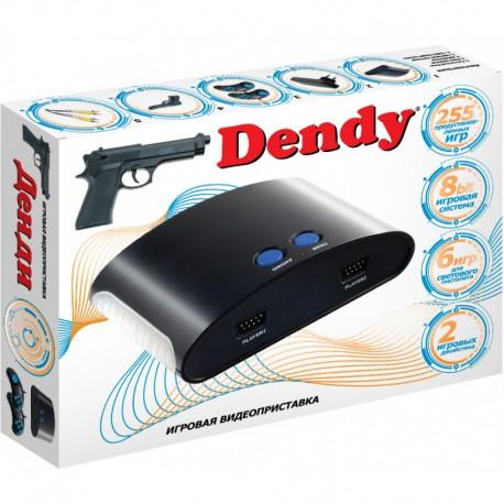 Dendy 8 Bit 255 игр + световой пистолет