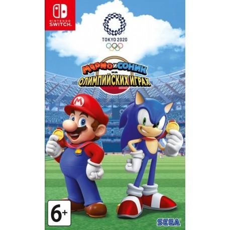 Марио и Соник на Олимпийских играх 2020 в Токио (Switch)
