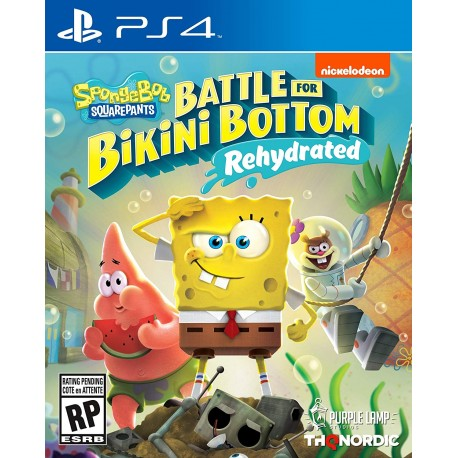 Spongebob squarepants battle for bikini bottom – rehydrated (PS4)