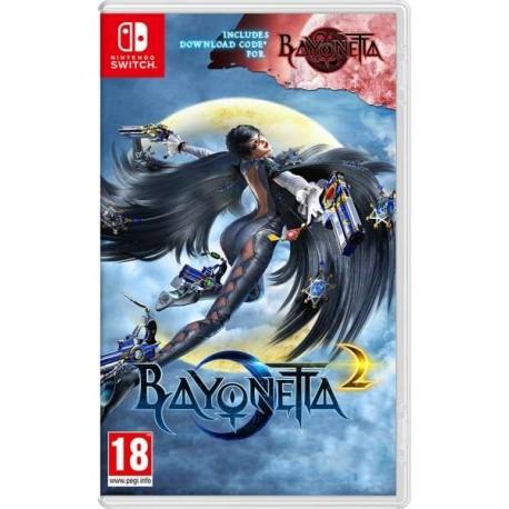 Bayonetta 2 + DCC Bayonetta 1 switch
