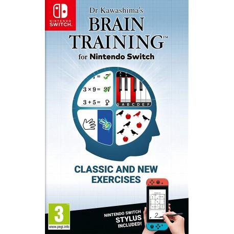 Dr Kawashima's Brain Training for Nintendo Switch (Switch)