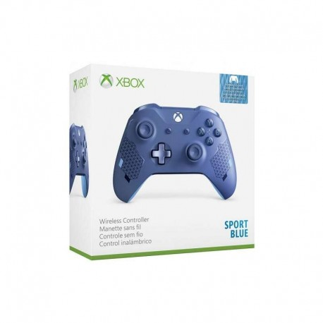 Геймпад Xbox One S sport blue
