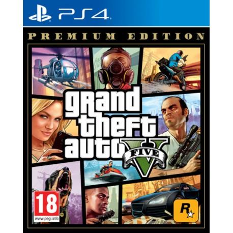 Grand Theft Auto V. Premium Edition (PS4)