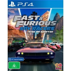 Fast & Furious Spy Racers: Подъем SH1FT3R (PS4)