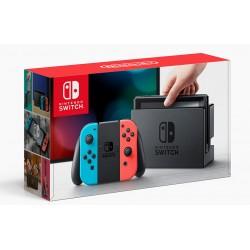 Nintendo Switch (Неоновый синий/красный)