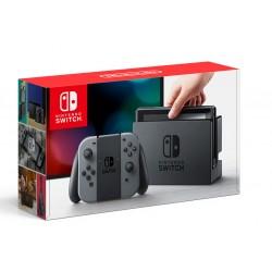 Nintendo Switch. Серые контроллеры Joy-Con