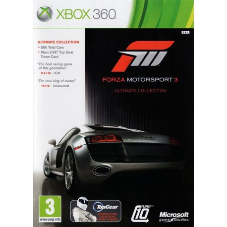Forza Motorsport 3. Ultimate Collection (Xbox 360)