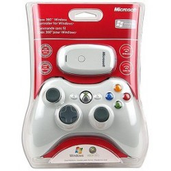 Microsoft Xbox 360 White. Wireless Controller for Windows