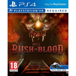 Until Dawn. Rush Of Blood (PS4, VR)