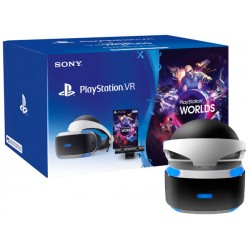 Sony PlayStation VR + Worlds + Camera
