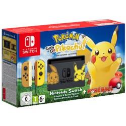 Nintendo Switch + Pokemon. Let's Go, Pikachu!
