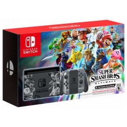 Nintendo Switch + Super Smash Bros. Ultimate