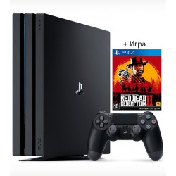 Sony PS4 PRO 1TB + Игра Red Dead Redemption 2