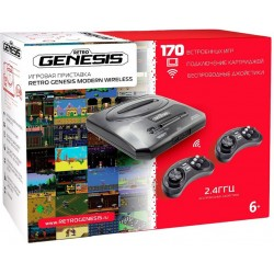 SEGA Retro Genesis Modern Wireless (170 встроенных игр)
