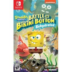Spongebob squarepants battle for bikini bottom – rehydrated (Nintendo Switch)