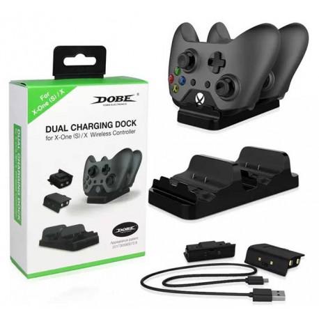 Зарядная станция + 2 аккумулятора Xbox One